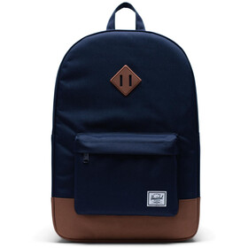 Herschel Heritage Mochila, peacoat/saddle brown